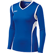 Asics Women's Long Sleeve Mintonette Volleyball Jersey
