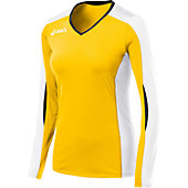 Asics Women's Roll Shot Long Sleeve Volleyball Jersey