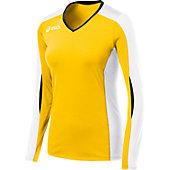 Asics Women's Roll Shot Long Sleeve Volleyball Jersey