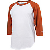 Rawlings Youth 3/4 Sleeve Cotton Baseball Shirt