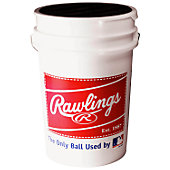 Rawlings Bucket With Baseballs  (30 Balls)