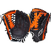 "Worth Century Series Black/Orange 12"" Fastpitch Glove"