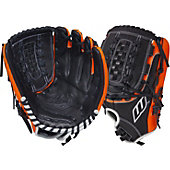 "Worth Century Series Black/Orange 12.5"" Fastpitch Glove"