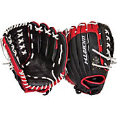 "Worth Century Series Scarlet/White 12.5"" Fastpitch Glove"