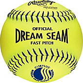 "Rawlings 12"" Dream Seam USSSA Fastpitch Softball (Dozen)"