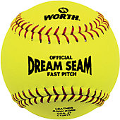 "Worth 12"" NFHS/ ASA Dream Seam Fastpitch Softball (Dozen)"