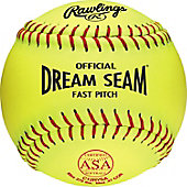 "Rawlings 12"" ASA Pro Tac Dream Seam Fastpitch Softball (DZ)"