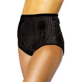 Alleson Athletics Women's Black Sequin Cheer Briefs