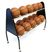 Trigon 2-Tier 15-Ball Cart