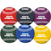 Baseball Express Weighted Training Ball Set (6 Pack)