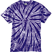Broder Adult Tie-Dye Twist Cotton T-Shirt