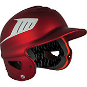 Rawlings COOLFLO Two-Tone Translucent Matte Batting Helmet