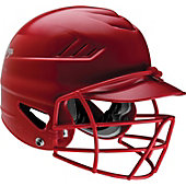 Rawlings COOLFLO Batting Helmet with Baseball Facemask