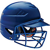 Rawlings COOLFLO Clearcoat Batting Helmet with Faceguard