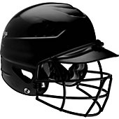 Rawlings COOLFLO Softball Batting Helmet with Mask