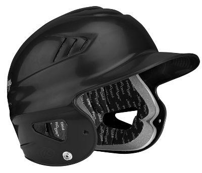 Rawlings CoolFlo Hi-Tech Batting Helmet CFBHBLK