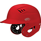 Rawlings Senior CoolFlo XV1 Single Matte Batting Helmet