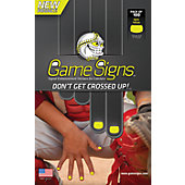Game Signs Signal Enhancement Stickers - Large Size