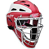Rawlings Adult Two-Tone Matte Hockey Style Catcher's Helmet