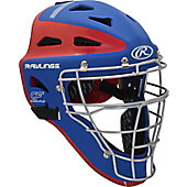 Rawlings Adult VELO Series 2-Tone Matte Catcher's Helmet