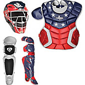 All-Star System 7 Intermediate Custom USA Catcher's Set (Age