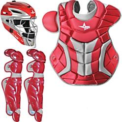 All Star Adult Pro Catcher's Bundle
