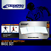 "Champro 14"" x 14"" x .5"" Waffle Base Set"