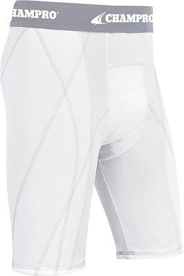 Champro Adult Dri-Gear Sliding Shorts CMPBPS9AWHTM