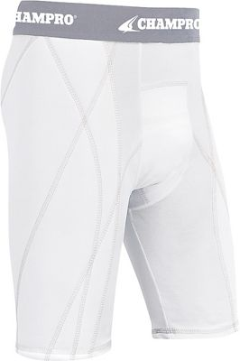 Champro Youth Dri-Gear Sliding Short CMPBPS9YWHTS