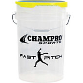 Champro Empty Fastpitch Bucket with Lid