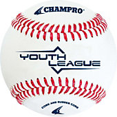 "Champro Youth League 8.5"" Cork/Rubber Baseball (Dozen)"