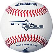 Champro Official League Cork/Rubber Baseball (Dozen)