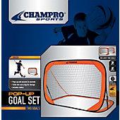 Champro 3' x 2' Pop Up Soccer Goal