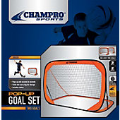 Champro 6' x 4'  Pop Up Soccer Goal (Individual)