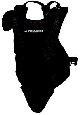 Champro Contour-Fit Premium Lightweight Youth Chest Protector CP03BLK
