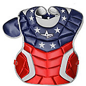 "All-Star Intermediate USA Custom Chest Protector (15.5"")"