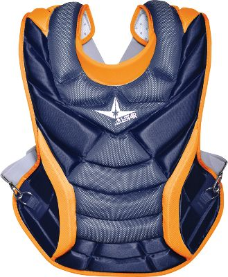 All Star Womens Custom System 7 Chest Protector 14 12 w Throat Embroidery