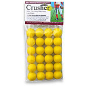 Heater Sports Mini Yellow Foam Dimple Balls (2 Dozen)
