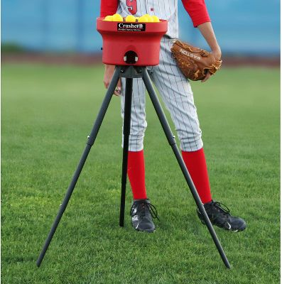 Trend Sports Crusher Pitching Machine w/Poly Balls