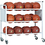 Champion Sports Double Wide 24-Ball Cart