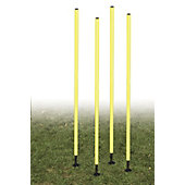 Champion Sports Spring-Loaded Outdoor Agility Pole Set