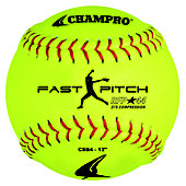 "Champro 12"" Recreational .44 COR Fastpitch Softball (Dozen)"