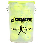 "Champro Fastpitch Bucket with 12"" Softballs (2 Dozen)"