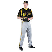 Rawlings Adult Full-Button Front Custom Jersey with Underarm Panel Inserts