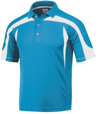 Baw Men's Eagle Cool-Tek Short Sleeve Polo