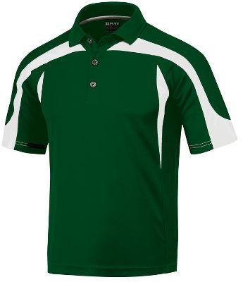 Baw Men's Eagle Cool-Tek Short Sleeve Polo