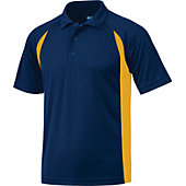 Baw Men's Color Body Cool-Tek Short Sleeve Polo