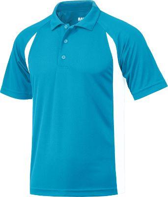 Baw Men's Color Body Cool-Tek Short Sleeve Polo