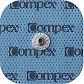Compex Replacement Electrodes - 2x2 (1 Bag Contains 4 Pads)
