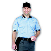 Dalco Umpire Short Sleeve Light Blue/Navy Shirt